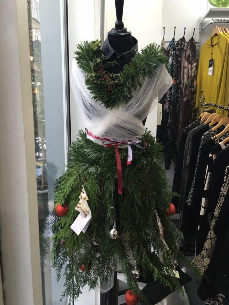 Christmas in Kendal - Maya Maya festive mannequin