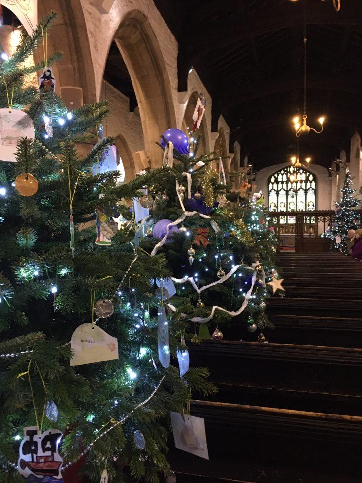 Christmas in Kendal - Kendal Parish Church Christmas Tree Festival