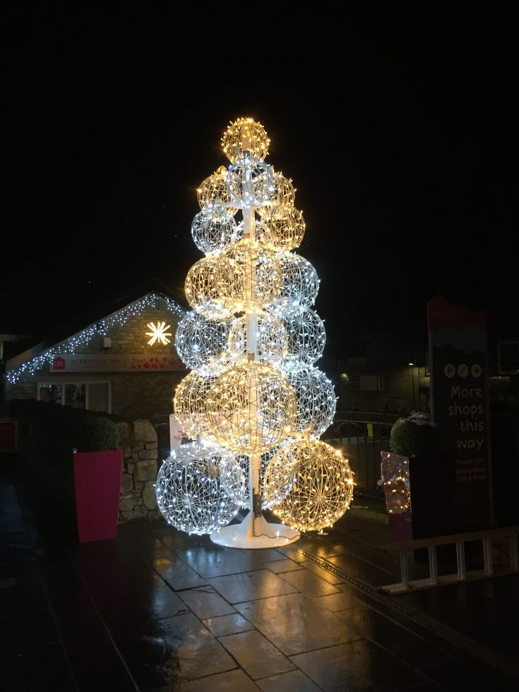 Christmas in Kendal - Wainwright's Yard Christmas Lights