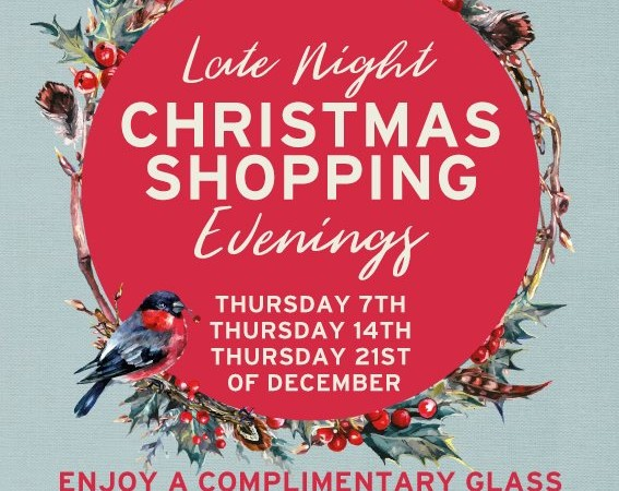 Armstrong Ward's Late Night Shopping Evenings