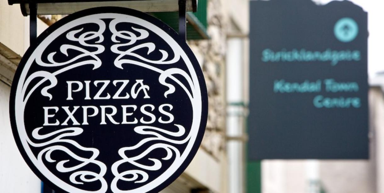 Pizza Express Wainwrights Yard Shopping In Kendal At