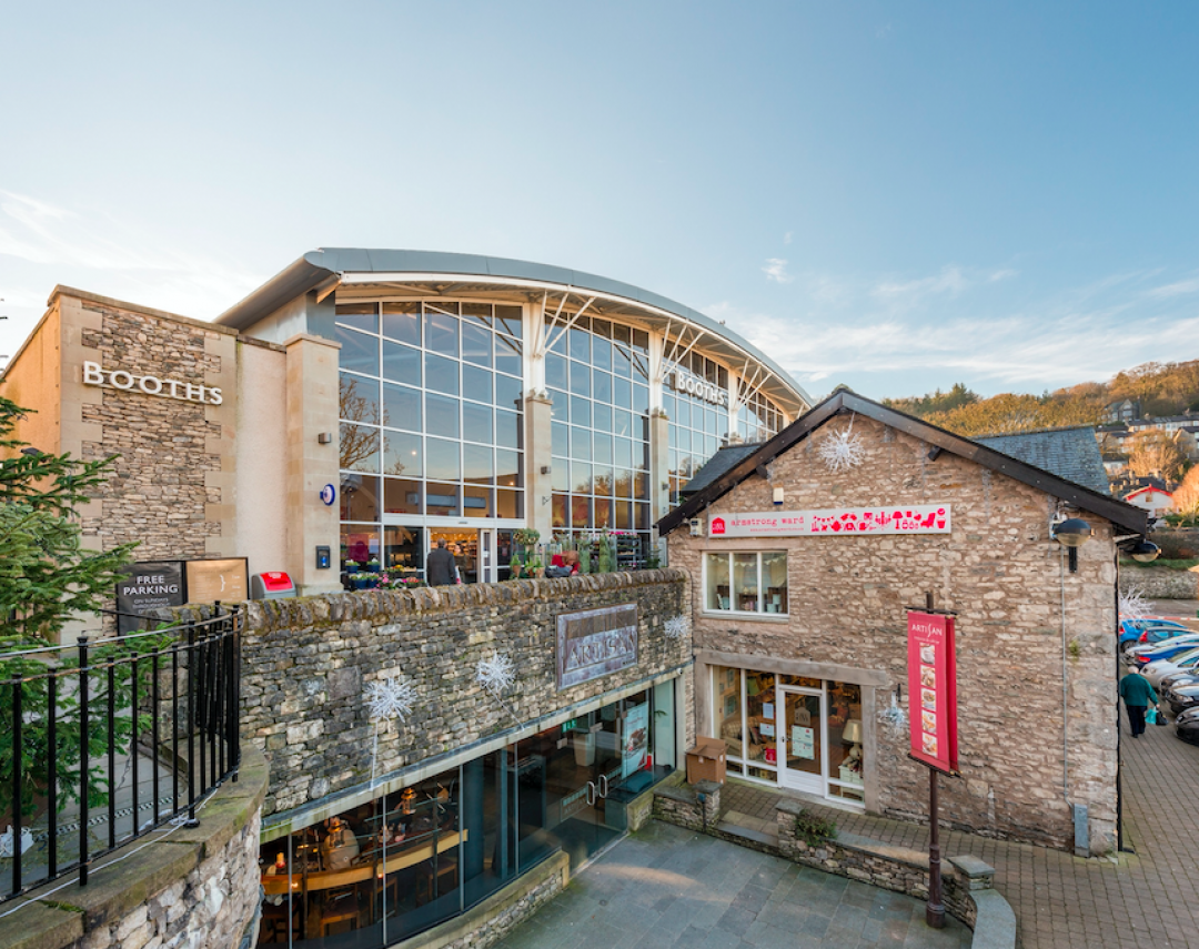 retail space in Kendal